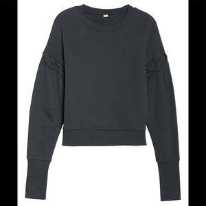 NWT Alo Lattice Long Sleeve Pullover